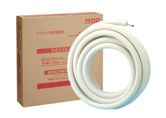 Easy to Use Single Piece Copper Refrigeration Tubing Jis Standard Flame Resistance